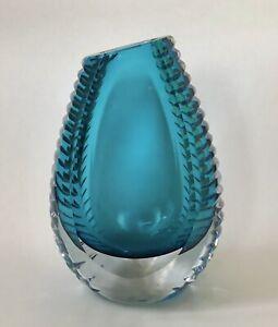 Vintage Murano Sommerso Vase- Flavio Poli For Mandruzzato & Company