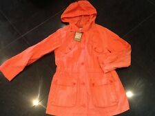 NWT Juicy Couture New & Gen. Ladies Orange Cotton Anorak Size Small UK Size 8/10