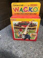 Rare 1988 Games Of Skills By Matchbox W.A.C.K.O. Baseball Pinball Game New!