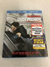 Mission: Impossible: Ghost Protocol (Blu-ray) w/Slipcover - Action Movie NO CODE