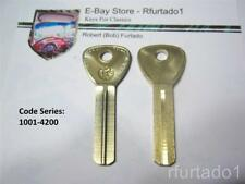 Key Blank for Vintage Toyota secondary key up to 1968 (TR18) See Code Series