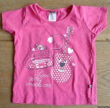 maat 80 JACKY BABY t-shirt roze meisje L31xB26cm pink shirt girls