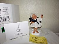 """Goebel Reminder Angel: Remember to Hug Your Cat, NOS, 4.5"""" tall w/ COA"""