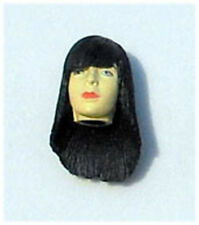 Mika Female Action Figure Head (1) Black Hair Custom Fodder For Star Wars GI Joe