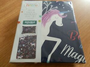George Home Magical Moonlight Double Duvet Set. New In Pack