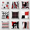 Creative Waist Throw Geometric Cushion Pillow Cover Polyester Home Case Decor