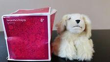 American Girl Beforever Samantha's Dog Jip Tan Cocker Spaniel New Damaged Box