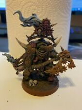 Warhammer 40k Death Guard - Lord Of Contagion - Painted