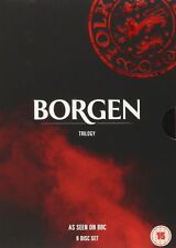 BORGEN TRILOGY - Series 1-3 Complete All Seasons 1 2 3 Collection New UK R2 DVD