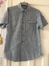 Craghoppers Crinkle Style Men's Shirt Shirt Size S Check