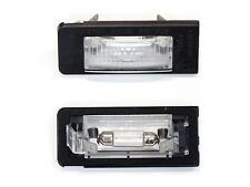 2x original Audi TT 8n luz Placa Matrícula Luz de placa izquierda + derecho