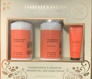 CRABTREE & EVELYN CULT COLLECTION POMEGRANATE & ARGAN OIL (1355)