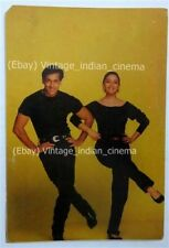 Indian Bollywood Vintage Postcard Actor Salman Khan-Madhuri Dixit