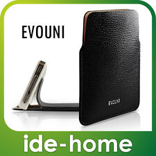 "Evouni Premium Black Leather Pouch for iPhone (4.7"")"