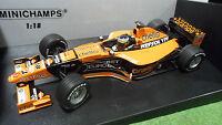 F1  ARROWS SUPERTEC A21 #18 P. DE LA ROSA au 1/18 MINICHAMPS 180000018 formule 1