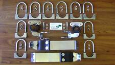 69 Camaro Exhaust System Hanger + Clamp Kit 50pc Plated 69 70 71 72 Nova Hangers