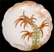 Limoges France LDB & Co Flambeau Plate Signed Bay VTG