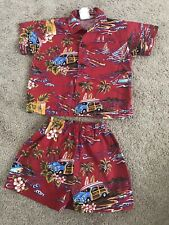 Hawaiian Clothes Toddler Set Nui Nalu 24M 2pc