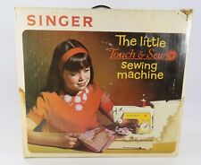 SINGER LITTLE TOUCH & SEW SEWING MACHINE MODEL 67-A -23 & ORIGINAL BOX  JH
