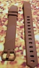 REPLACEMENT BAND FITBIT ALTA HR FITNESS DIGITAL WIRELESS WATCH SILICONE BROWN L