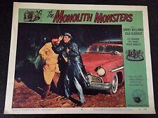 THE MONOLITH MONSTERS 1957, ORIGINAL LOBBY CARD - SCI FI