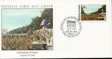 Marshall Islands 1994 WWII Liberation of Paris FDC