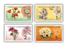 TURKEY / 2021 - Point Lace Themed Official Stamps (Art, Flower), MNH