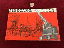 catalogue brochure de jouet N 15 meccano