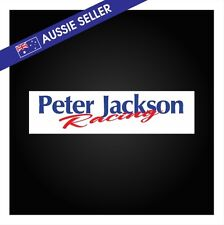 Peter Jackson Racing Sticker - DR30 Gazelle HR31 R31 Nissan Seton Sierra Car