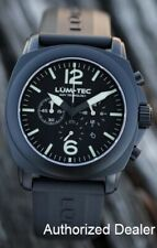 NEW Lum-Tec M series M72 Military PVD Chronograph Watch 44mm WARRANTY