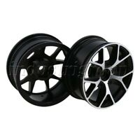 4Pcs Aluminum RC Wheel Rims 12mm-Hex For RC1:10 On-Road Car 52mm-OD