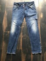 Original Dsquared D2 Gr.52 34 Jeans Hose blau 479€ w. Neu Authentic selten