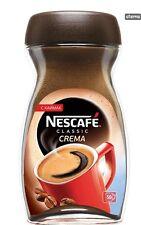 NESCAFE Classic CREMA Instant Coffee 50 Cups Jar 100g 3.5oz