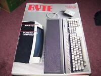 BYTE Magazine March 1986 Vol. 11 NO. 3 Homebound Computing ATARI