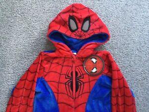 BNWT Official Marvel SPIDER-MAN Boys Childs Onesie All In One PJs Primark