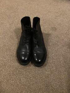 Military drill parade boots size 9 Medium British Army Royal Marines