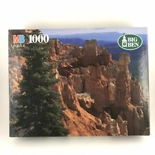 *NEW* MB Big Ben 1000 Piece Puzzle Bryce Canyon National Park VT Vintage 1996