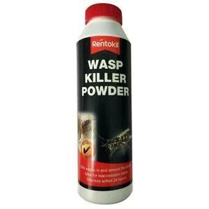Rentokil Wasp Killer Powder, Effective Control of Wasps Nests, Easy to Use- 150g