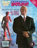 MR PERFECT WWF WRESTLING SPOTLIGHT MAGAZINE VOLUME 19 1993 WWE CURT HENNING