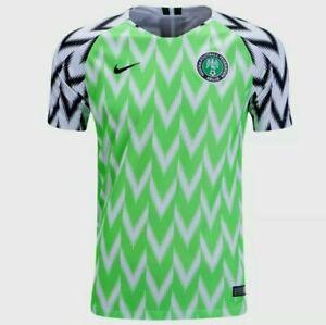 Nike 2018 NIGERIA HOME STADIUM FOOTBALL SOCCER YOUTH SZ M NEW JERSEY 894010-100