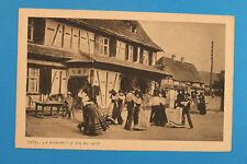 Alsace Bas-Rhin Alsace 67 AK CPA la kermesse en alsace 1910-20er costumes Maison