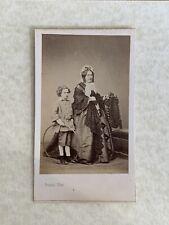 CDV. Enfant avec un jouet. Cliché Franck à Paris
