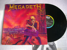 Megadeth ‎– Peace Sells... But Who's Buying?  EST 2022 , LP, 1st UK Press