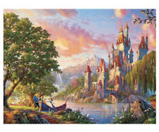 New Thomas Kinkade Puzzle Beauty and the Beast Ii 2 750 Piece Ceaco Puzzle