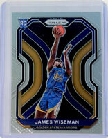 2020-21 PANINI PRIZM JAMES WISEMAN ROOKIE BASE GOLDEN STATE WARRIORS 🔥 #268