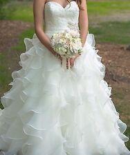 Allure Bridals Lace Strapless Wedding Dresses