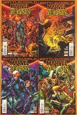 Marvel Zombies #1 2 3 4 (2015) Marvel Secret Wars Complete Series