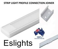 4X ALUMINIUM PROFILE CHANNEL STRAIGHT CONNECTOR JOINER LED STRIP LIGHT AP1506