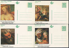 BELGIUM - 13 MINT POSTAL CARDS INTERNATIONAL RUBENS YEAR 1975