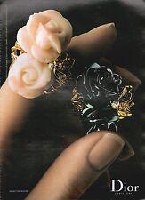 ▬► PUBLICITE ADVERTISING AD DIOR JOAILLERIE  BAGUES GWENDOLINE 2003